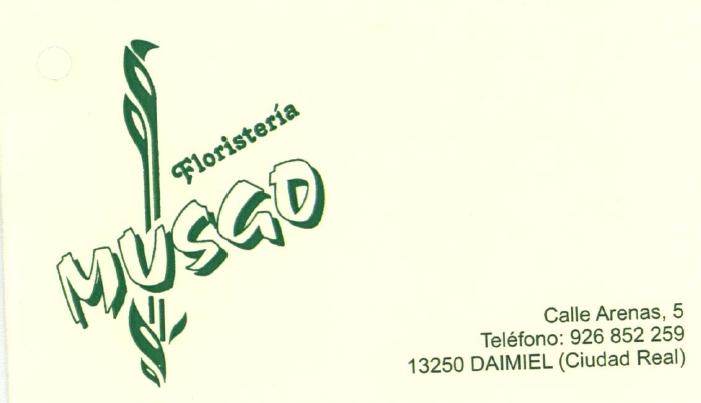 Floristeria musgo