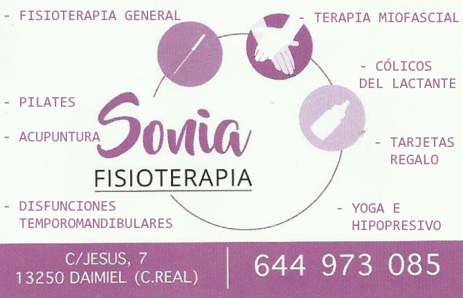 SONIA FISIOTERAPIA