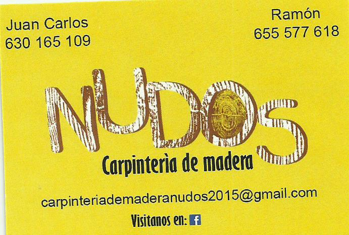 Nudos Carpintería