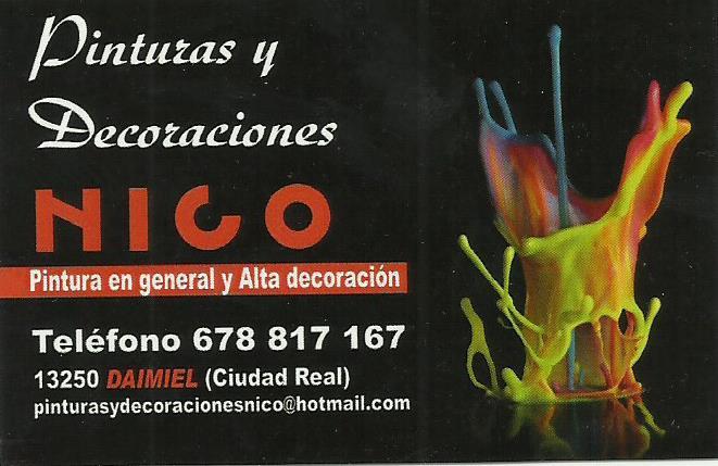 Pinturas y Decoración Nico